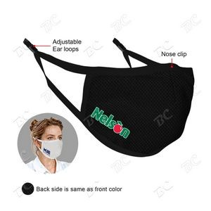 US Stock-3D stereo profile 3ply Reusable Cooling Face Mask