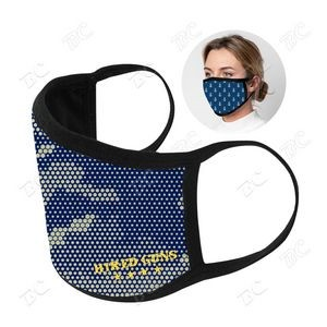 US Stock-3 ply Sublimation Cotton Mask